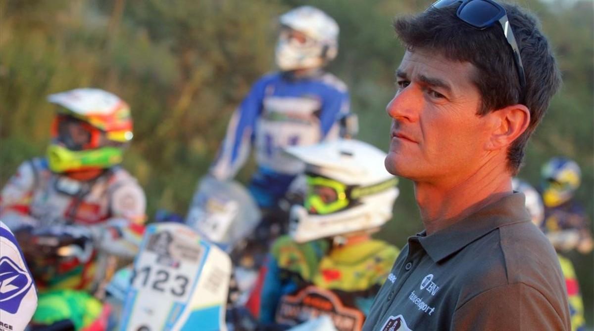 Marc Coma, director deportivo del Dakar.