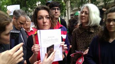 Agbar lleva a juicio a la Aliança contra la Pobresa Energètica por una protesta