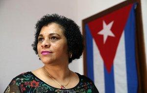 Maribel Barroso, migrante cubana y enferma de cáncer.