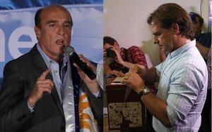 Daniel Martínez (Frente Amplio) y Luis Lacalle Pou (Partido Nacional), disputarán la presidencia en segunda vuelta.