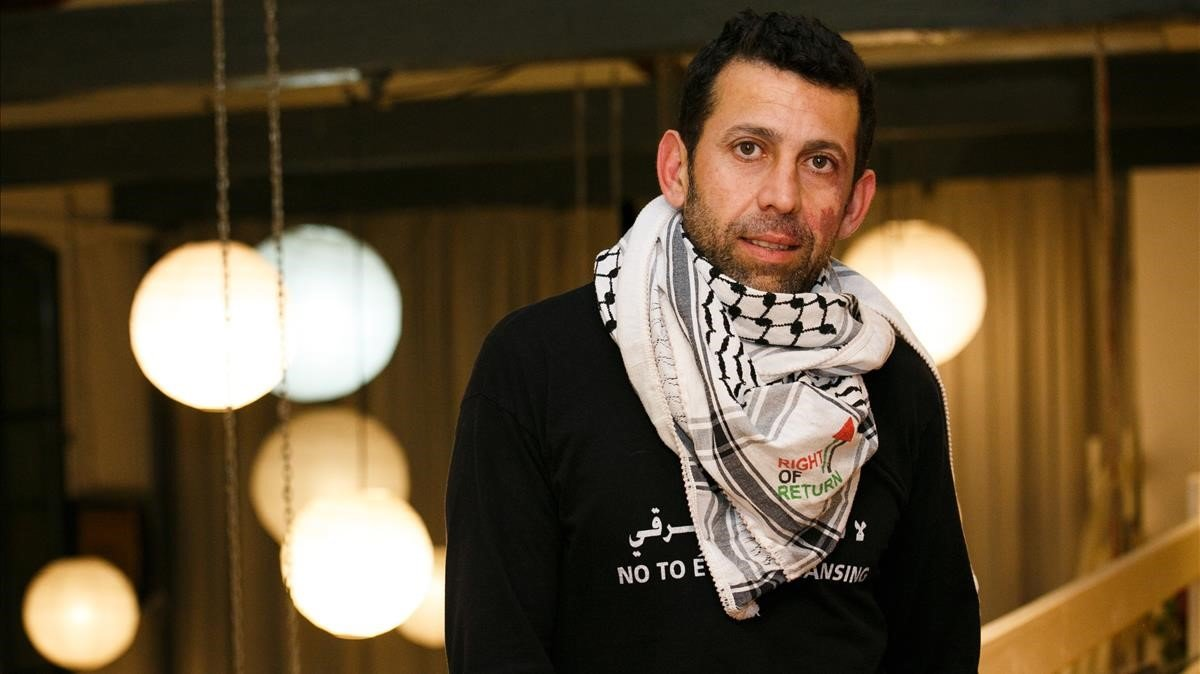 Mazeed Khalilia, activista por la causa palestina.