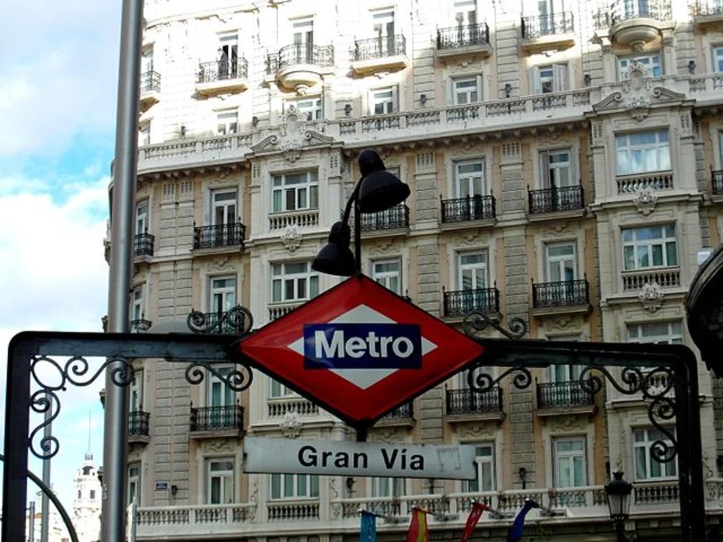 Estación de Metro de Gran Vía.