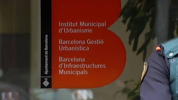 Operación contra el caso 3% sobre la financiación de Convergència Democràtica de Catalunya.