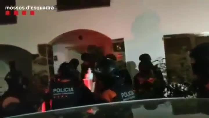 Operación de los Mossos contra el tráfico de drogas y blanqueo de capitales