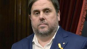 Oriol Junqueras, en una imagen tomada el pasado 26 de octubre.