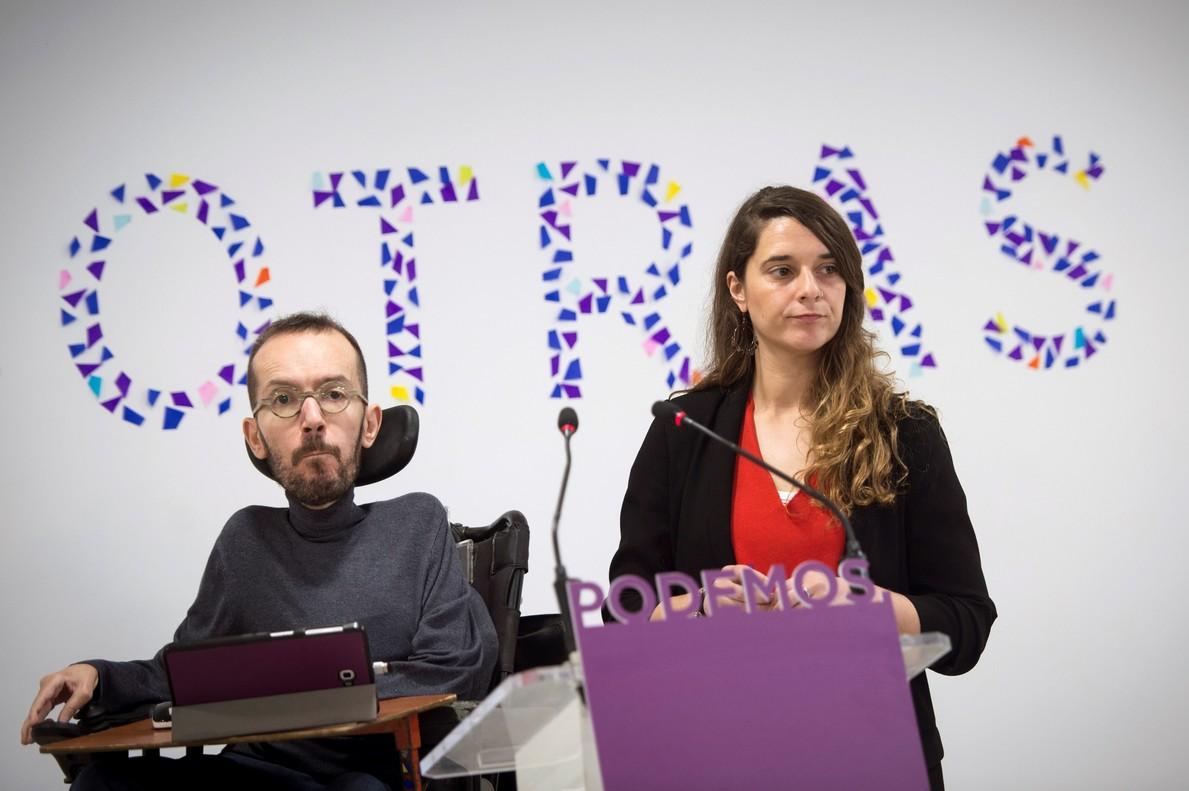 """Podemos denuncia ser víctima de una """"persecución"""" tras los sucesos de Lavapiés"""