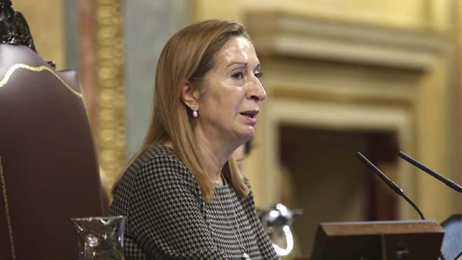 Discurso de Ana Pastor contra las faltas de respeto impresentables de los diputados.