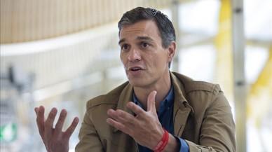 Sánchez busca activar el diálogo con Catalunya