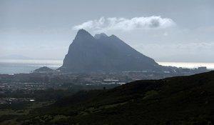 El Penón de Gibraltar.