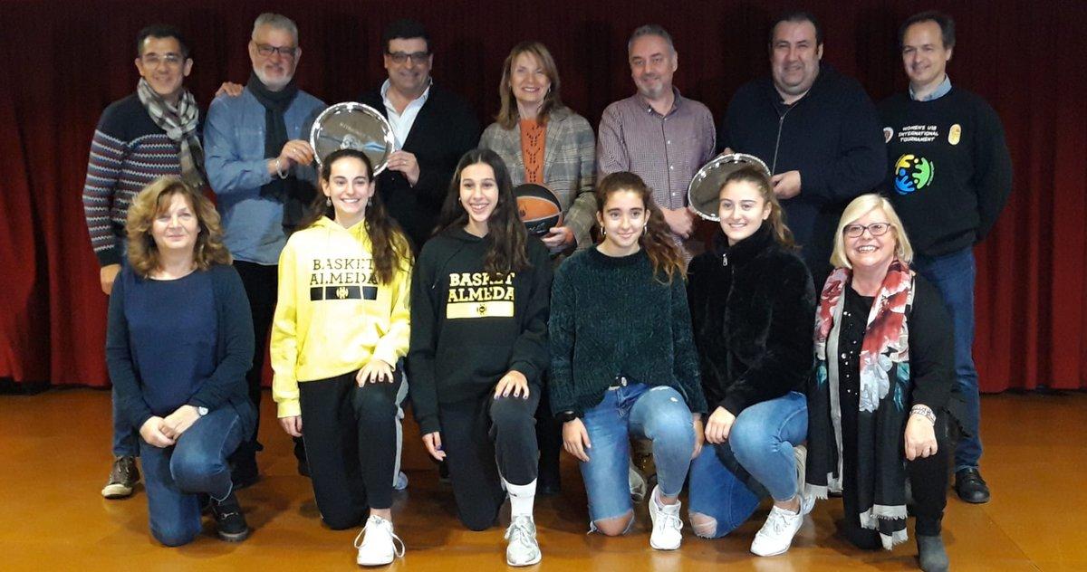 Presentación del cuarto torneo 'Women's U18 International Tournament'.