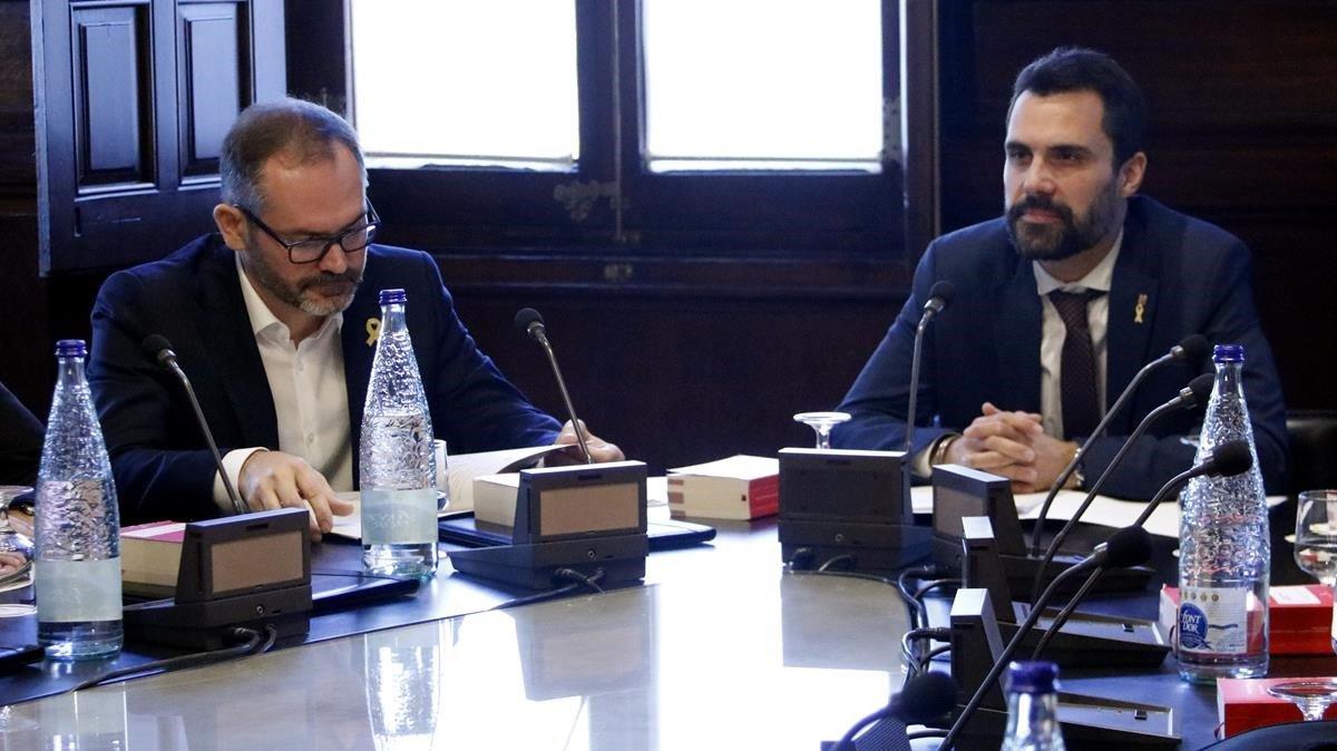 La ruptura entre JxCat y ERC deja sin mayoría al independentismo