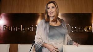 La presidenta de Andalucía, Susana Díaz, el pasado 2 de noviembre en Sevilla.