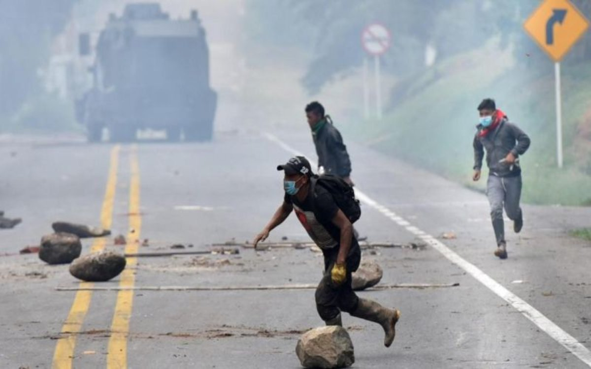 Image result for colombia protestas