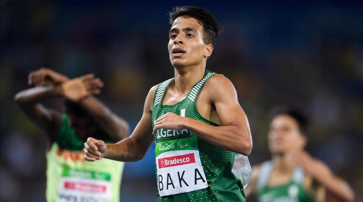El argelino Baka se impone en los 1.500 metros de los Juegos Paralímpicos en la categoría de discapacitados visuales más leve.