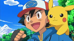 Ash y Pikachu, protgonistas de Pokémon.