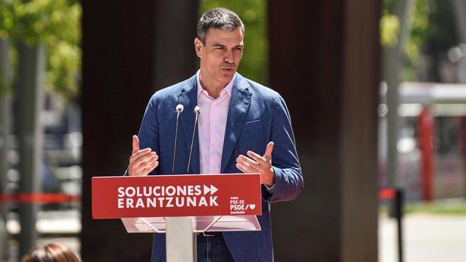 Sánchez se compromete a fortalecer un autogobierno vasco en el que quepa toda la sociedad.