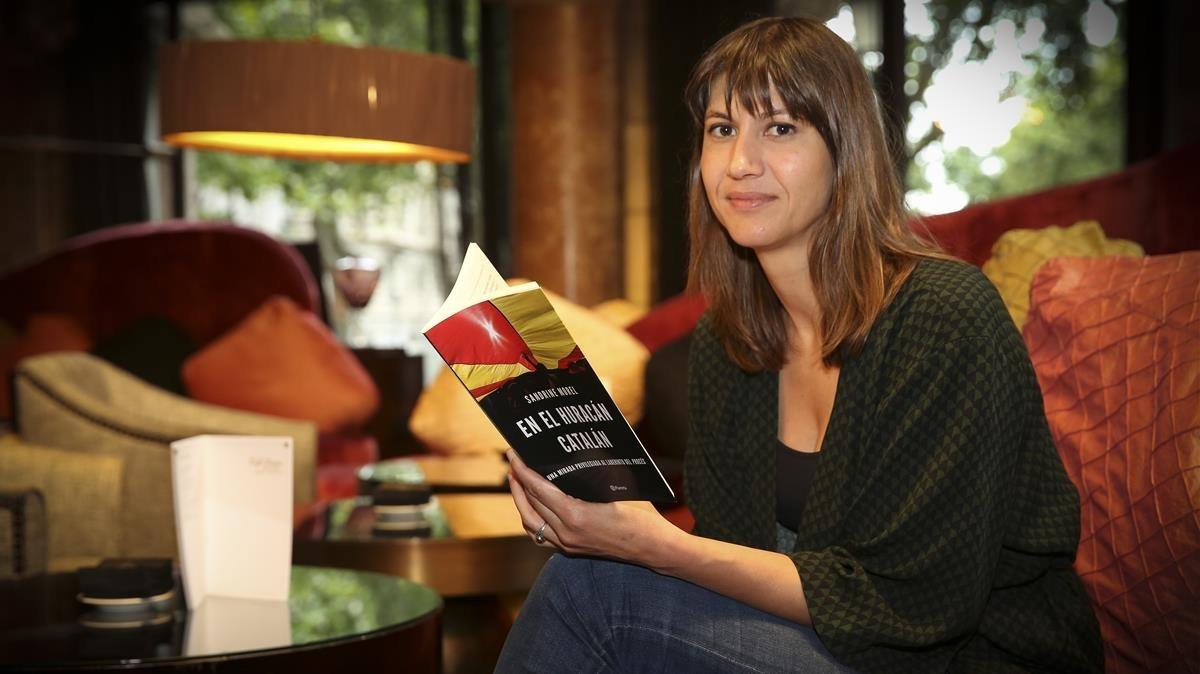 Sandrine Morel, periodista de Le Monde, que ha escrito el libro En el huracán catalán.
