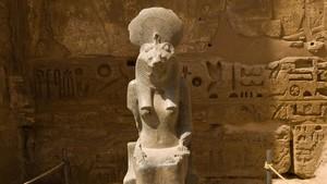 Sejmet en el templo de Luxor.