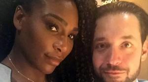 Serena Williams y Alexis Ohania.