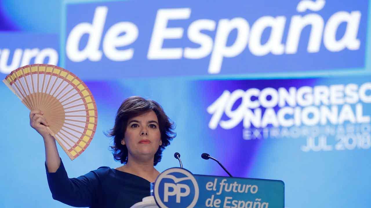 Soraya Sáenz de Santamaría abandona la política.