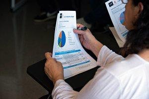 Tornen a Rubí els tallers sobre factura elèctrica que organitza Rubí Brilla