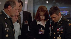 Nicole Kidman y George Clooney, en una escena de la película 'Elpacificador'.