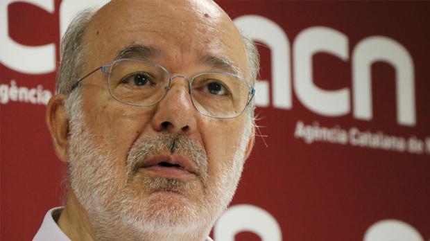 L'eurodiputat d'ERC està disposat a protestar així davant el Parlament Europeu per defensar les llibertats dels catalans.