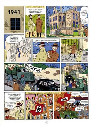 La biografía en cómic del creador de Tintín llega a España