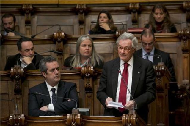 El alcalde, Xavier Trias, en el ayuntamiento de Barcelona.