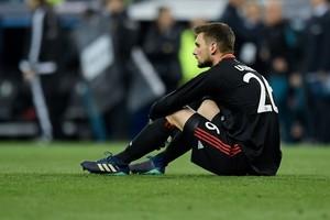 Sven Ulreich, tras su error en el Bernabéu.