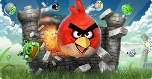 Una de las carátulas del juego 'Angry Birds'.