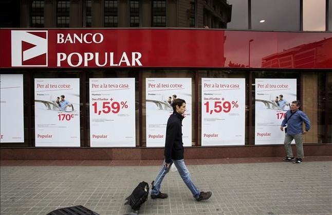 El cr dito crecer en el 2016 por primera vez en seis a os for Oficinas banco popular pamplona