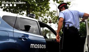 Una patrulla de los Mossos dEsquadra, en una imagen de archivo.