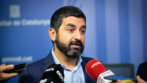 El 'conseller' de Afers Socials, Chakir El Homrani, este viernes.