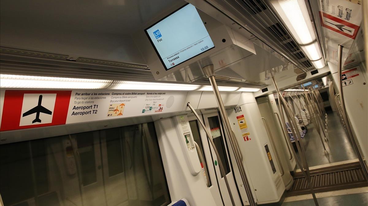 Prueba de la Línea 10 Sur, en dirección a Zona Franca.