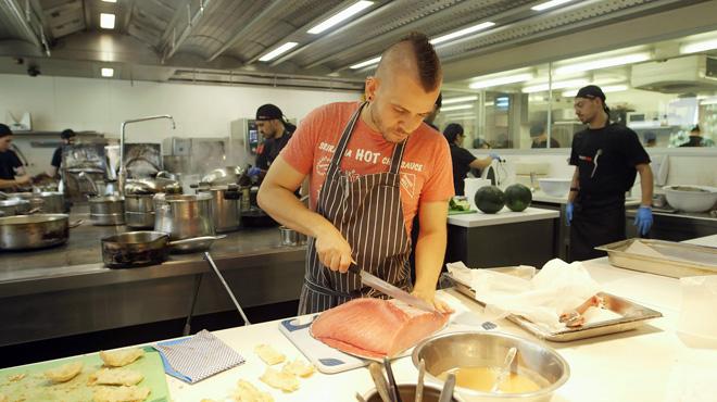 Vídeo promocional del nuevo programa de Cuatro El chef, protagonizado por Dabiz Muñoz.