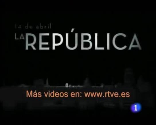 Vídeo promocional de RTVE en el que anunciaba elrodaje y próximo estreno en la primera cadena estatal de la segunda parte de la serie 14 de abril. La República.