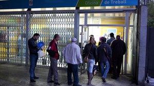 Espanya va crear 402.000 llocs de treball el 2019, la xifra més baixa des de la recuperació