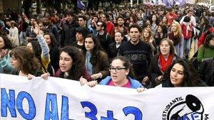 L'ensenyament públic andalús, en vaga contra l'Executiu andalús
