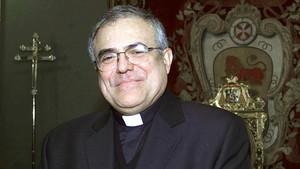 El obispo Demetrio Fernández.