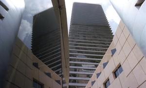 La Torre Mapfre en la Villa Olímpica.