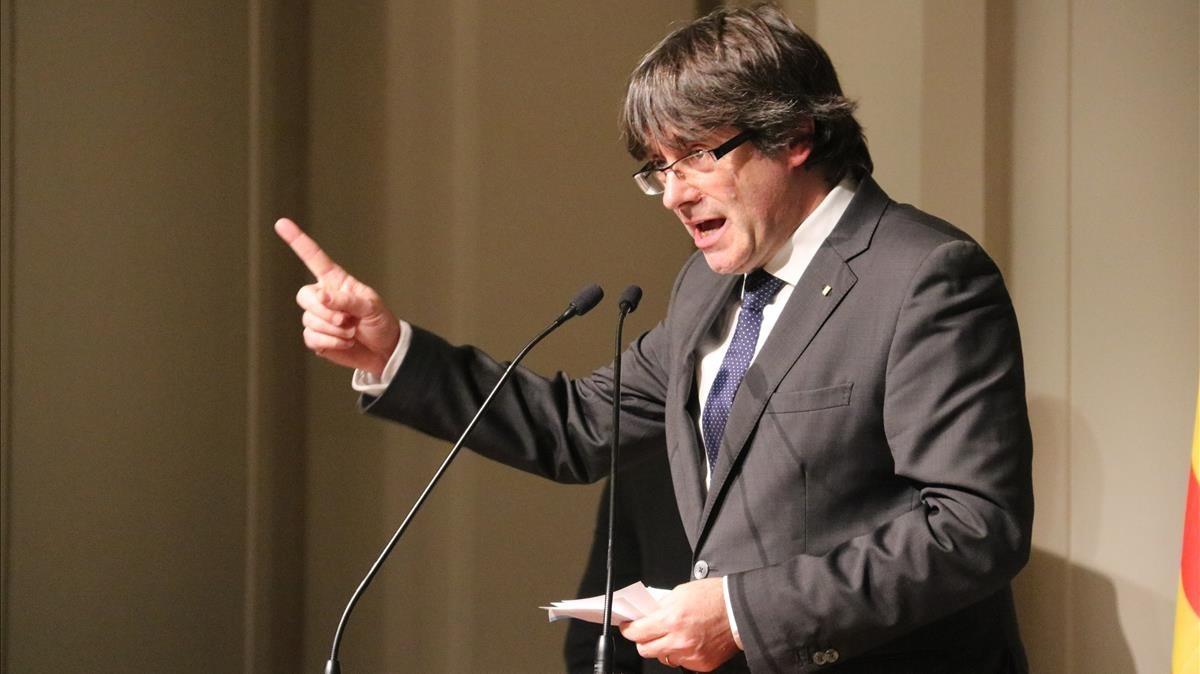 """Puigdemont no va tirar endavant la independència per no provocar una """"massacre"""", segons el seu advocat"""