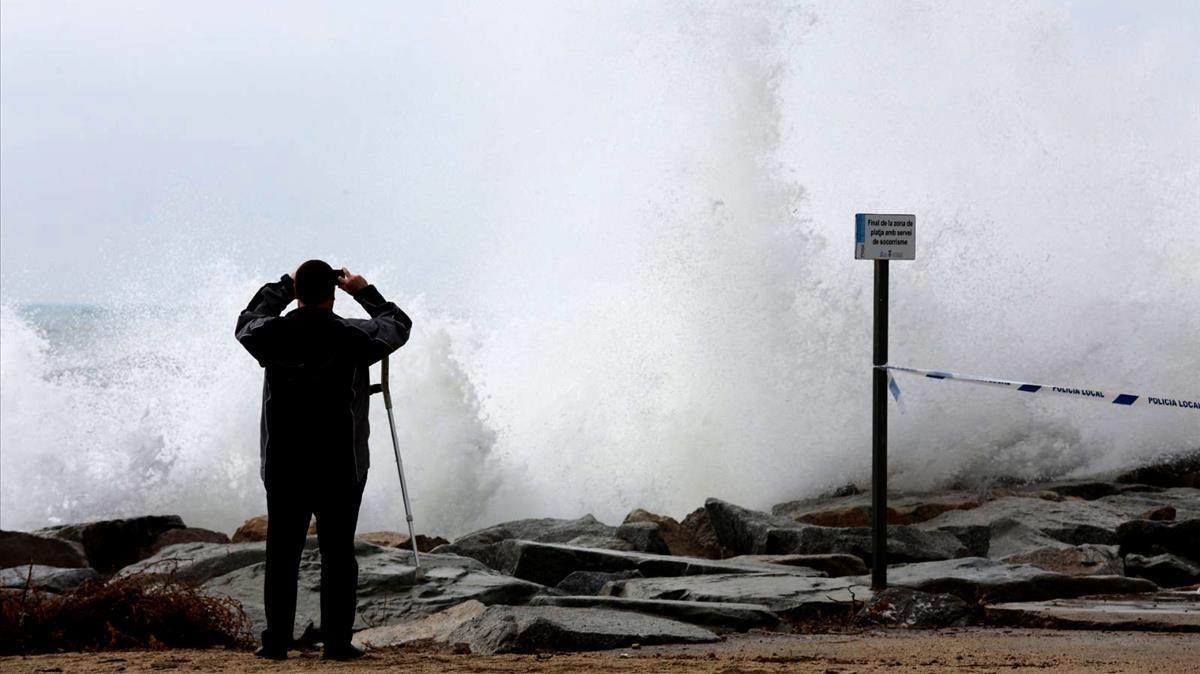 El fort onatge castiga el litoral català