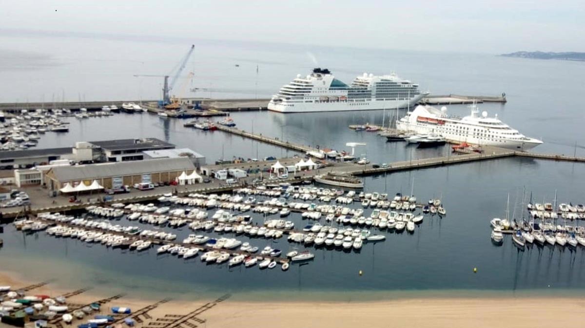 Puerto de Palamòs, que aspira a ser reconocido como zona Shengen para acoger más cruceros.