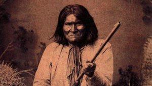El jefe apache Gerónimo.