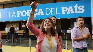Marta Pascal, en un congreso del PDECat.