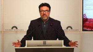 Nuet deixarà el seu escó al Parlament per presentar-se a les llistes d'ERC el 28-A