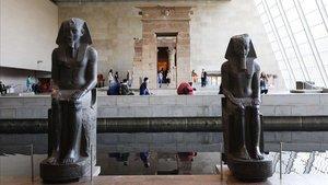 El Ala Sackler del Metropolitan Museum of Art de Nueva York, famosa por su colección de arte egipcio.