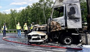 Accidente con seis muertos en una carretera polaca.