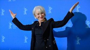 Helen Mirren, en Berlín, este jueves.